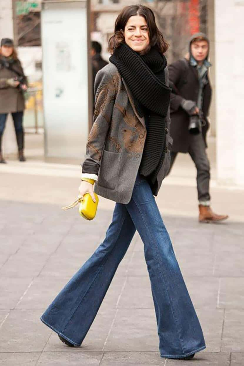 Manrepeller Yellow Fashion Clutch