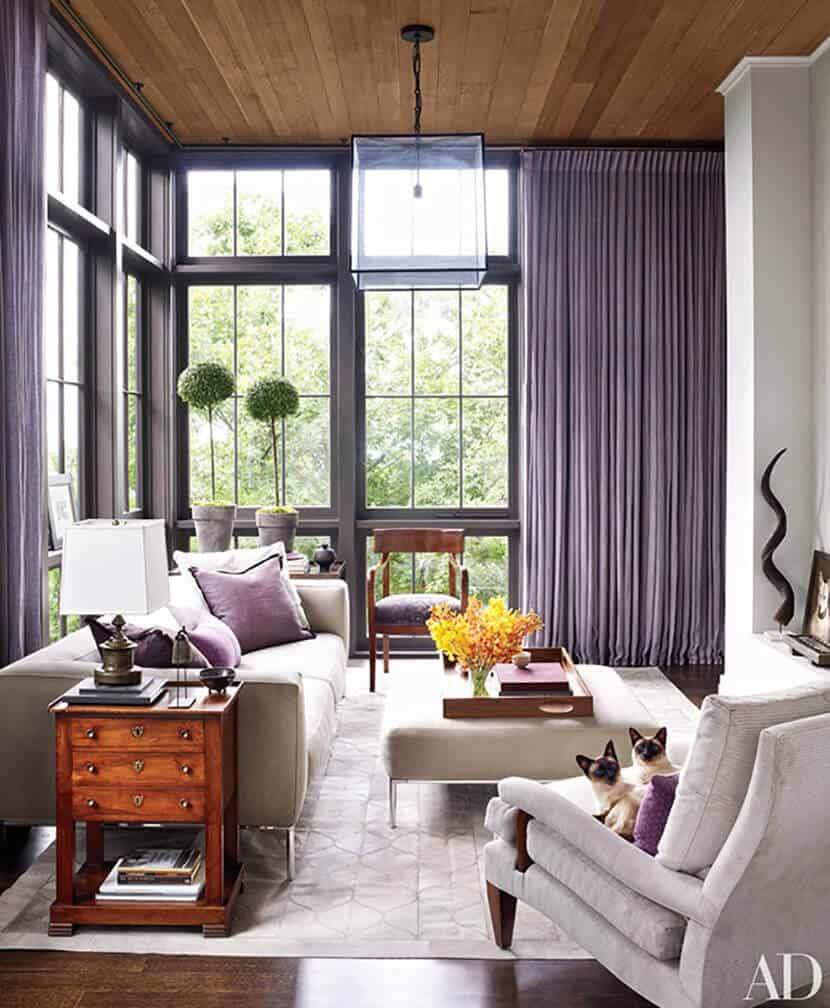 Lavender Pink White Color Trend Emily Henderson 3