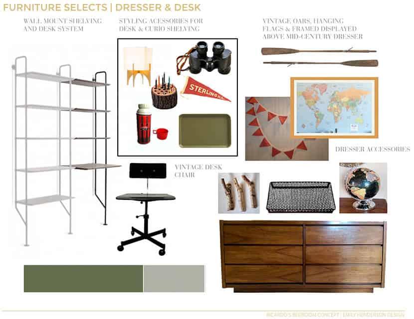 Ricardos Bedroom Dresser And Desk