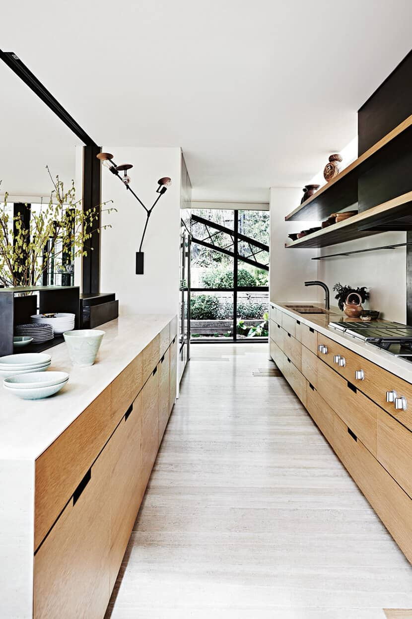 Zen Kitchen Accessories Light Wood and White