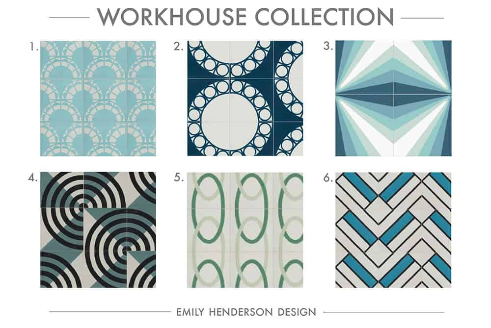 Cement Tile RoundUp Workhouse Collection Patterned Tiles Emily Henderson