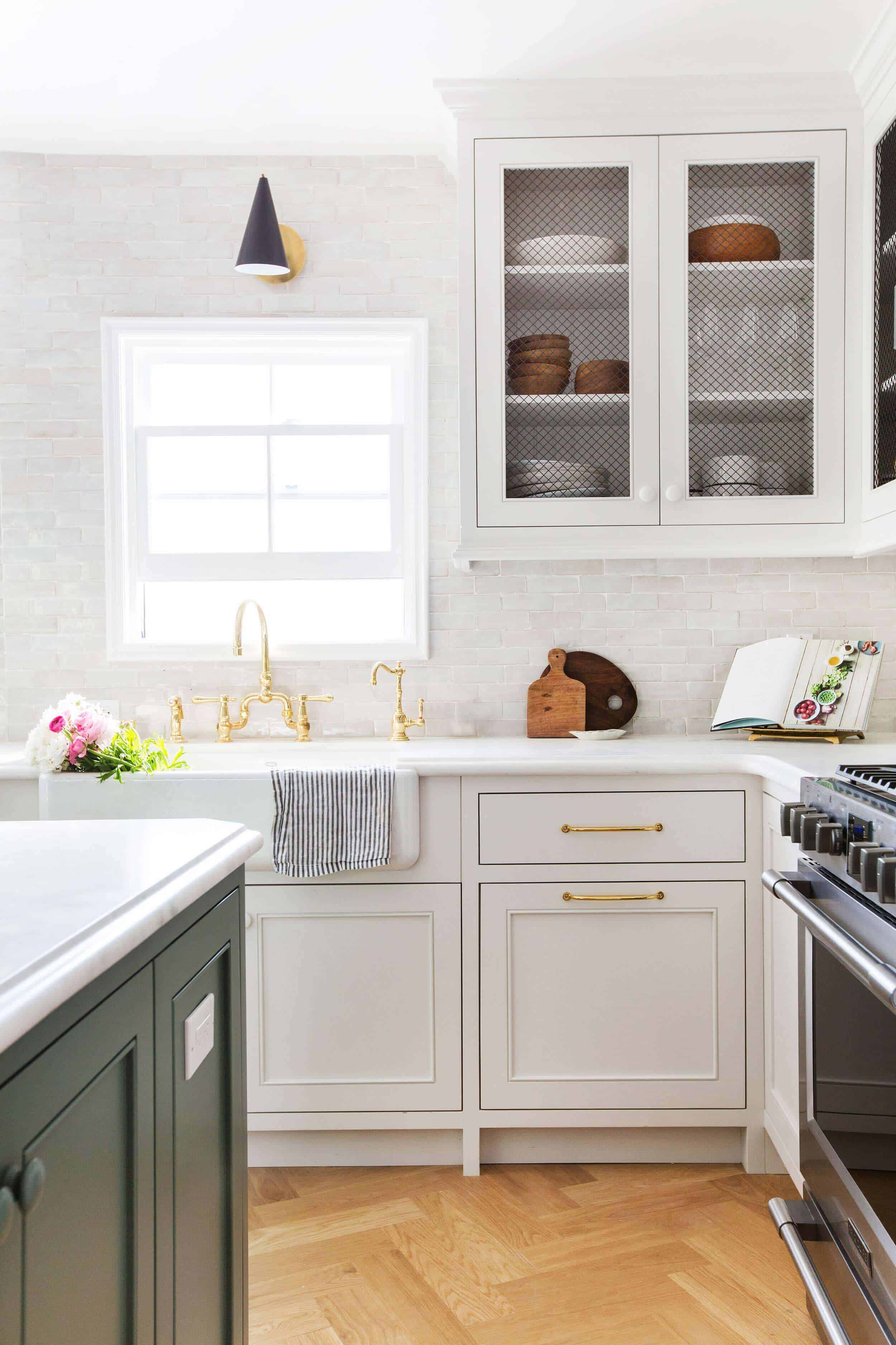 Different Colored Kitchen Island Cabinets