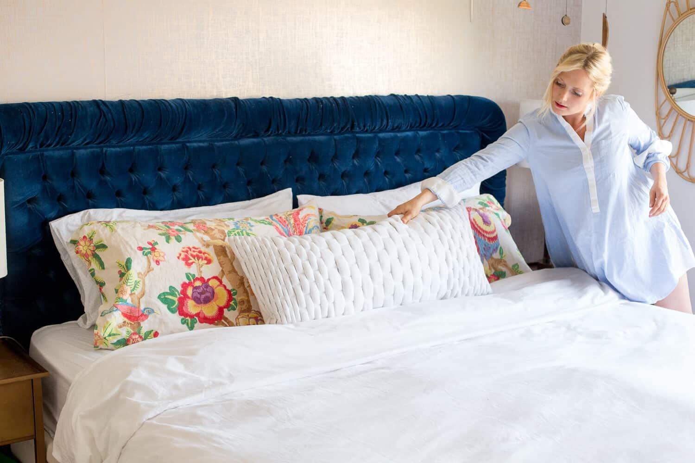 extra large lumbar pillow online