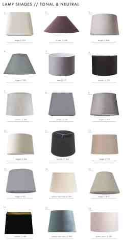 The Surprising Value Of Colored Textured Or Patterned Lampshades Emily Henderson