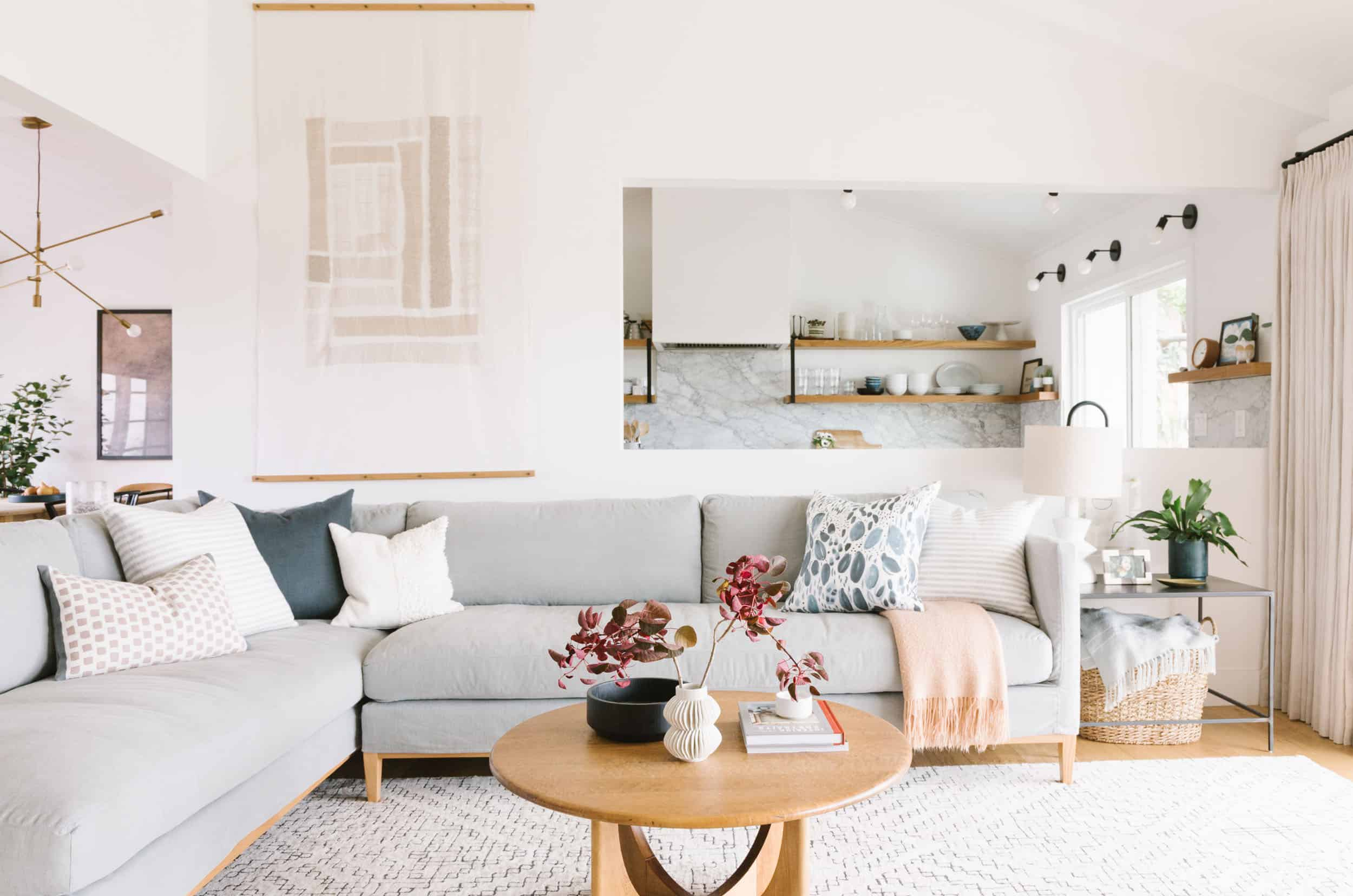 Samantha Gluck Emily Henderson Living Room Scandi Inspired
