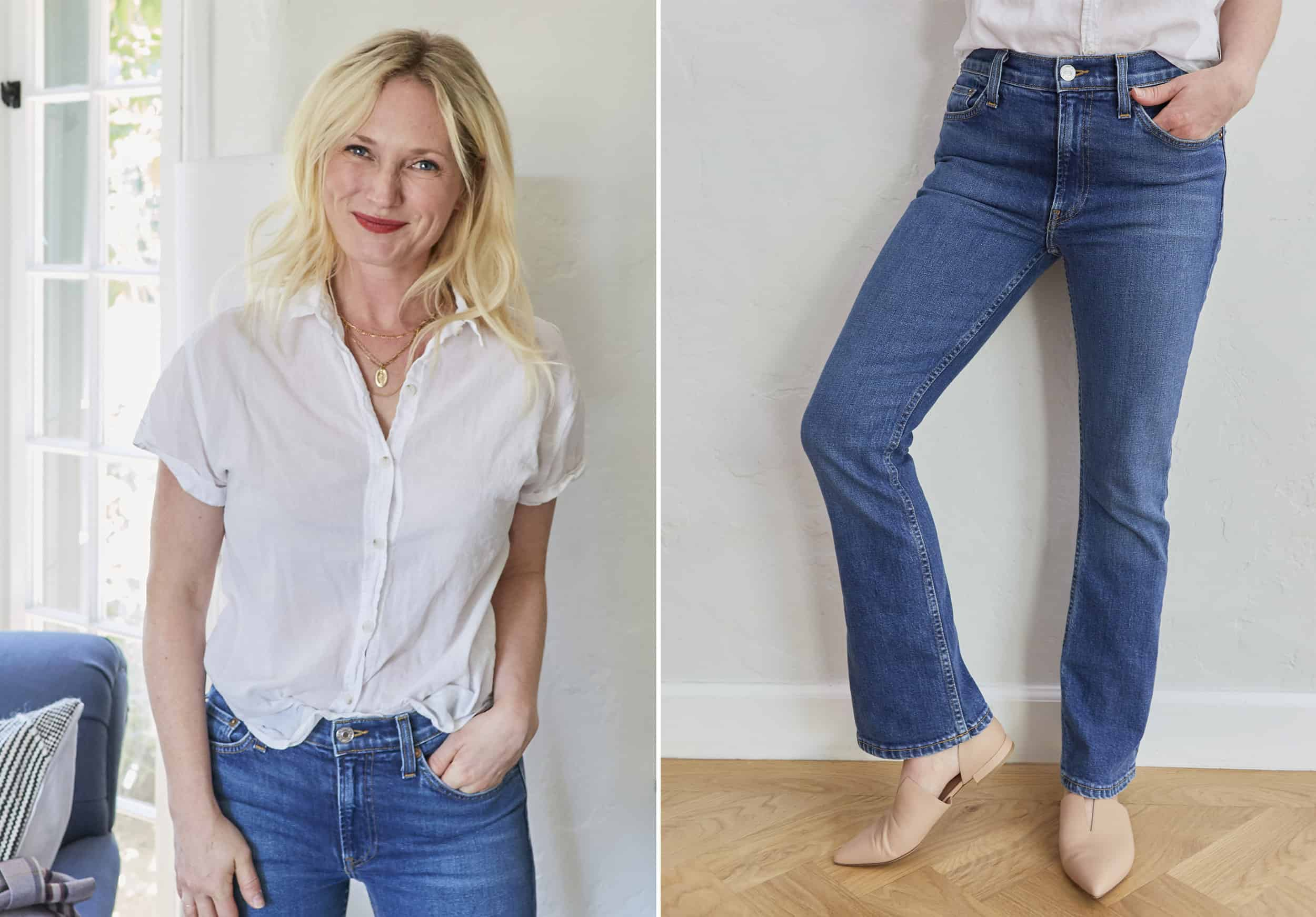Emily Henderson Nordstroms Anniversary Sale Fall Essentials 2018 Perfect Classic Boot Cut Jean