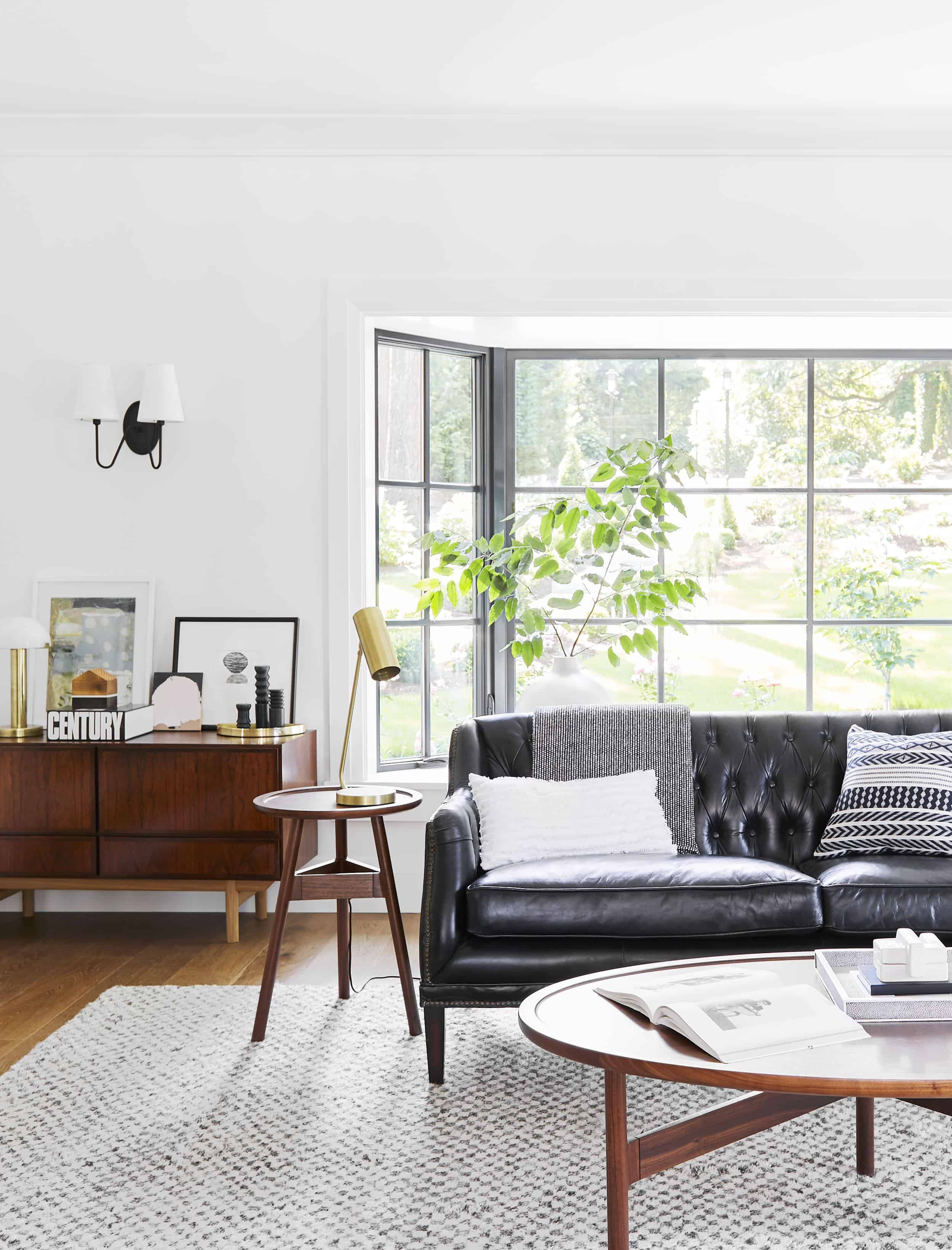 Emily Henderson Portland Traditional Living Room6