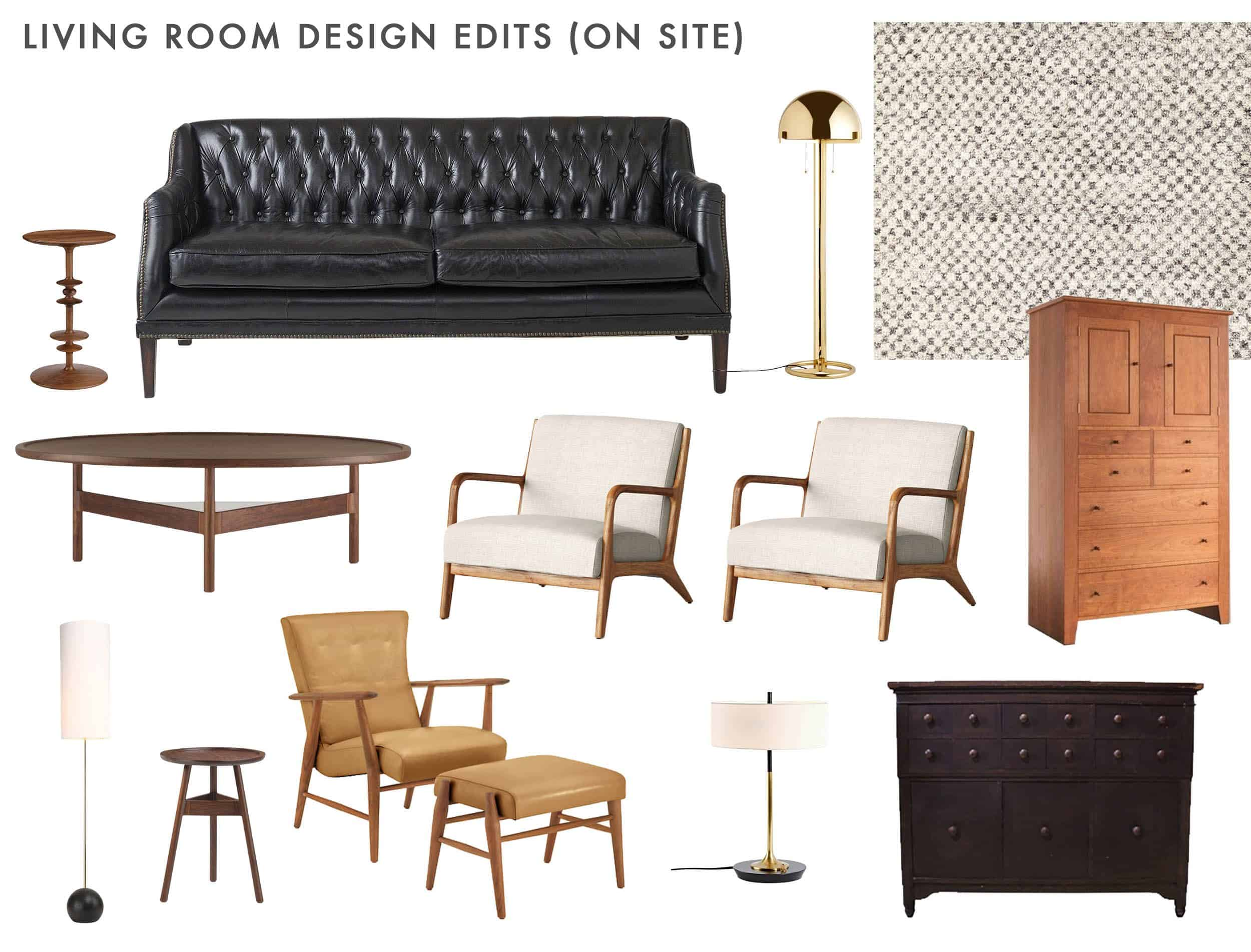 Living Room Design On Site Edits