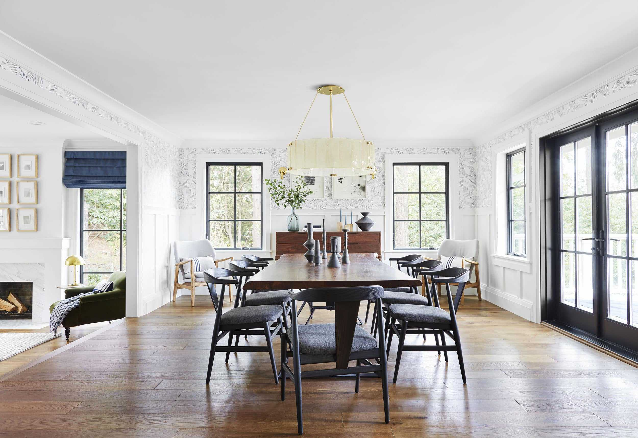 Emily Henderson Portland Traditional Dining Room1