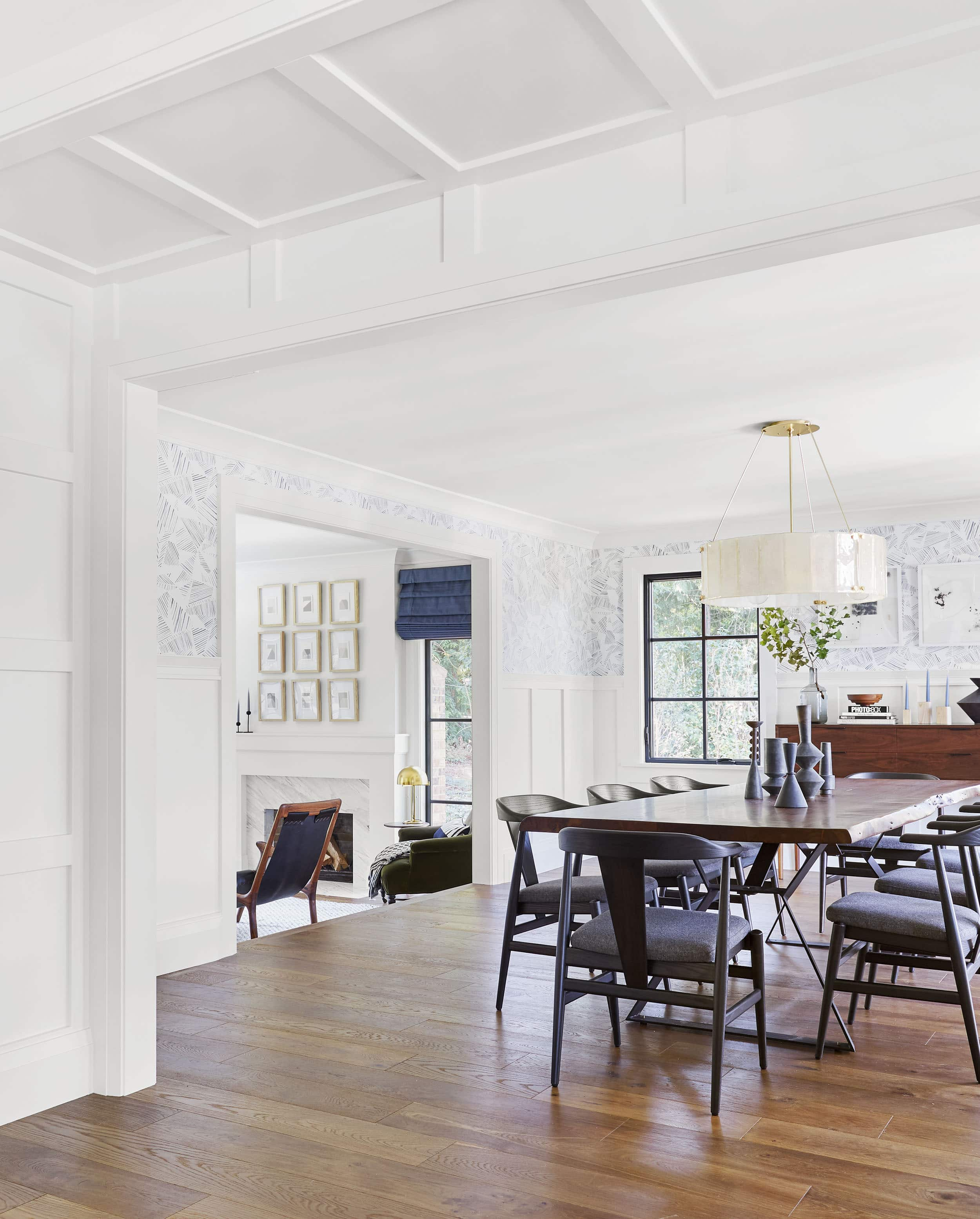 Emily Henderson Portland Traditional Dining Room17