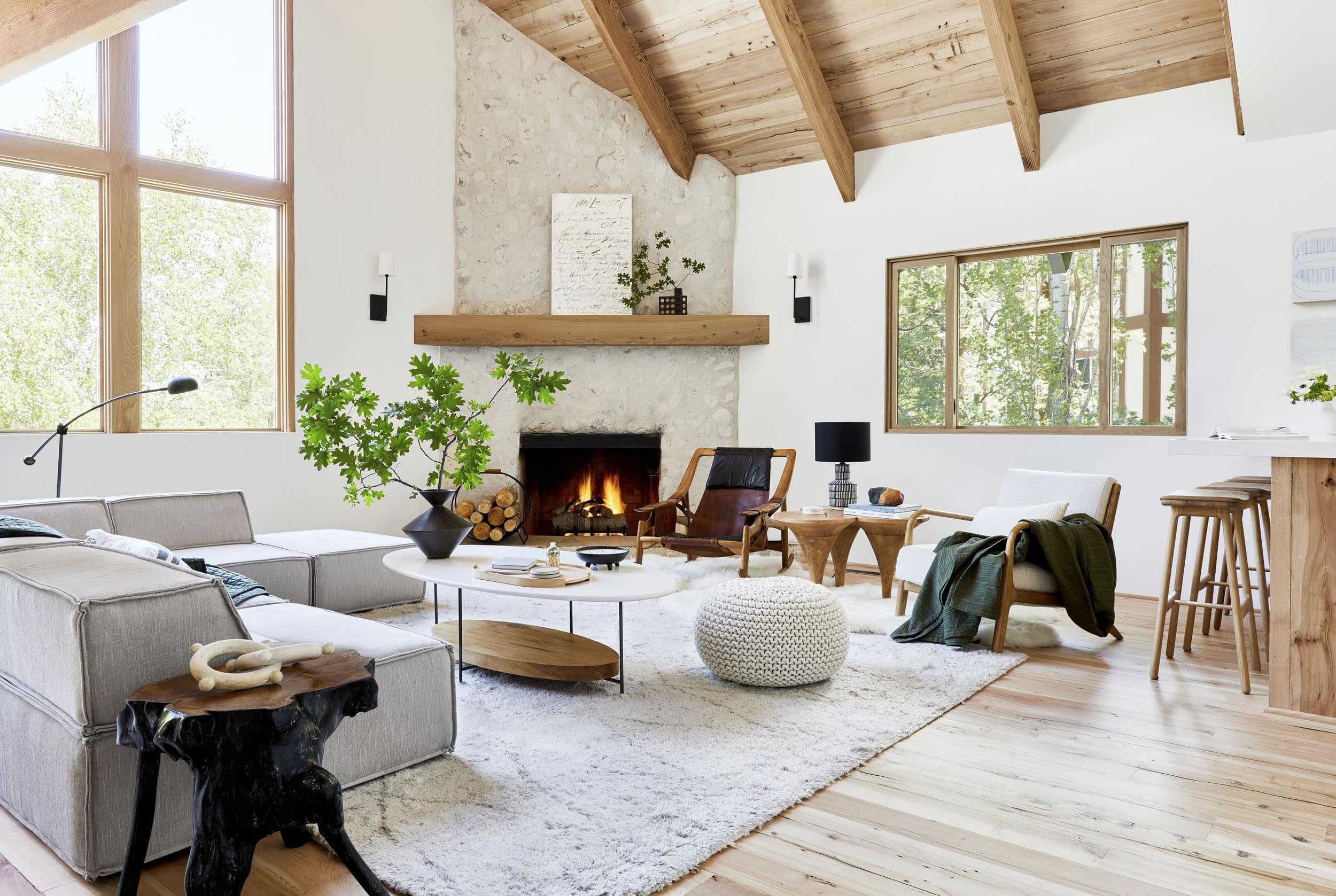 How To Design A Quiet Neutral Yet Exciting Living Room
