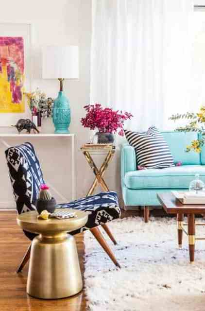 home office home office makeover emily. I\u0027m Inspired By This Living Room Styled Emily Henderson. The Patterned  Chair, Gold And Brass Accents, Contrasting Colors \u2013 It\u0027s Exciting, Home Office Makeover Emily
