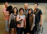 A family affair - Kim's immediate family luckily happened to all be in town
