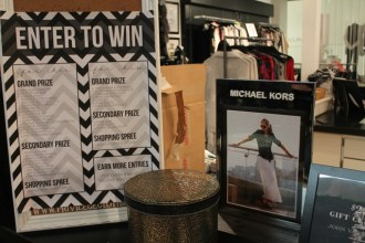 Over $3000 in giveaways from Michael Kors, John Varvatos, Wildfox, Hudson, Life/After/Denim, Hugo Boss, Free People and more!