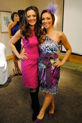 Beautiful sisters Joanna and Maria Kritikos