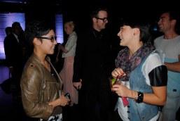 Miranda catching up with Clarissa Gallacio, designer and blogger at Clarisky Business