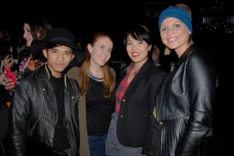 M'c Kenneth, Lyndi Barrett, Lisa Wong, and Natash McNamara