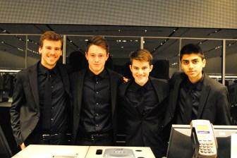 The good-looking staff at Zara Man