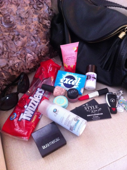 Whats In Kimxo's Purse