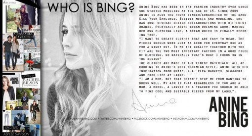 Anine Bing x KIMXO