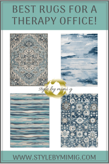 Best Rugs For Designing A Therapy Office!