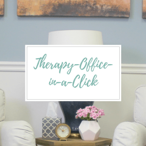 Therapy Office Decor Clickable Shopping List-All the decor needed for a Therapist to open their private practice!