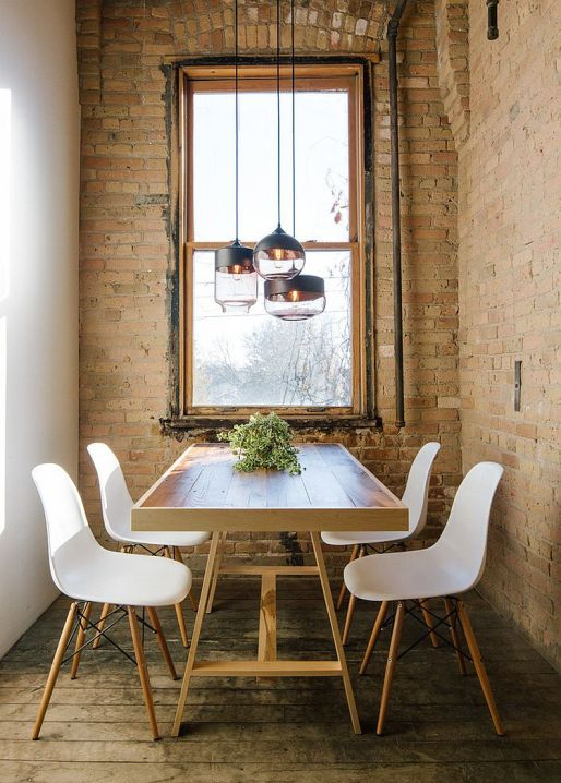 small-industrial-style-dining-room-with-lovely-lighting