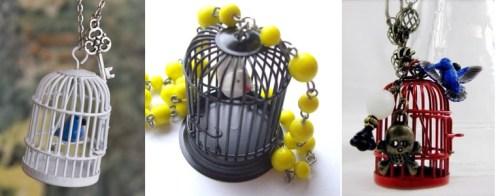 Bird-cage-pendants