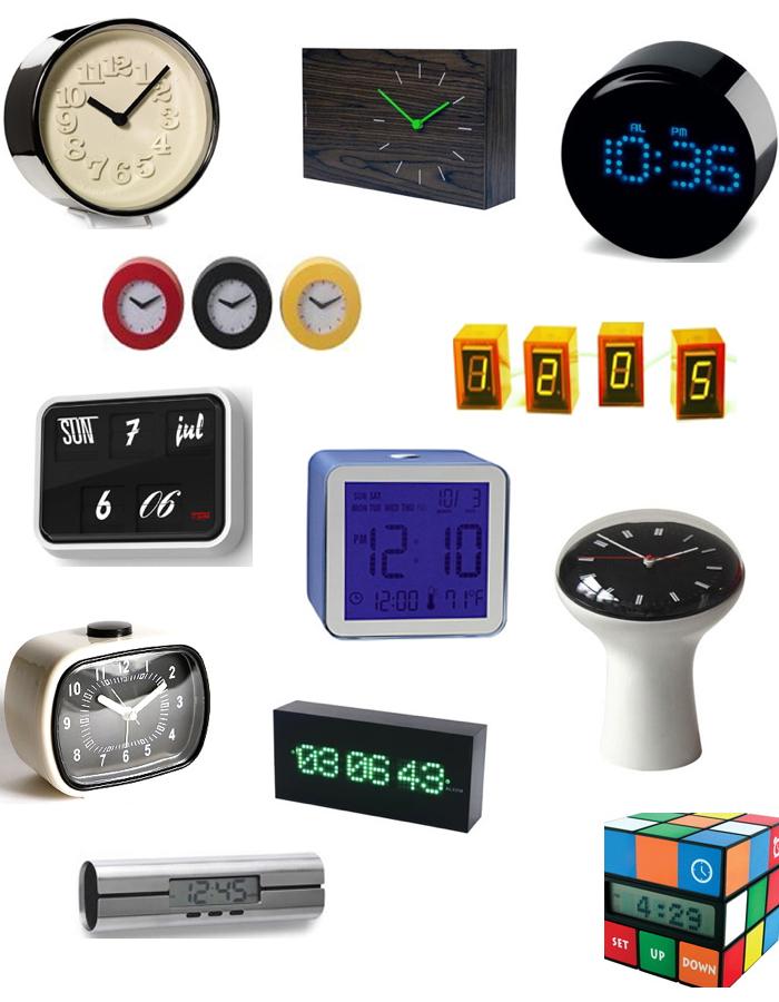 Get The Look Modern Clocks Stylecarrot