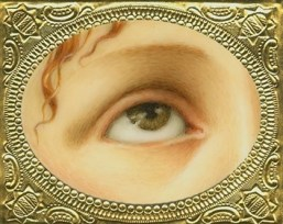 Lover's Eye La Magadelena (after Titian) Oil on Ivorine clark