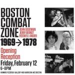 ARTmonday: Boston Combat Zone