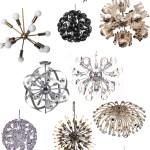 Get the Look: Sputnik Chandeliers