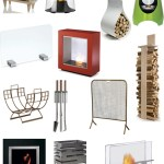 Get the Look: 47 Modern Fireplaces and Fireplace Accessories