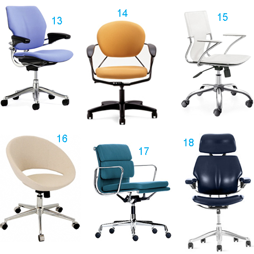 desk chair tesco red lounge get the look: 48 office chairs that swivel - stylecarrot