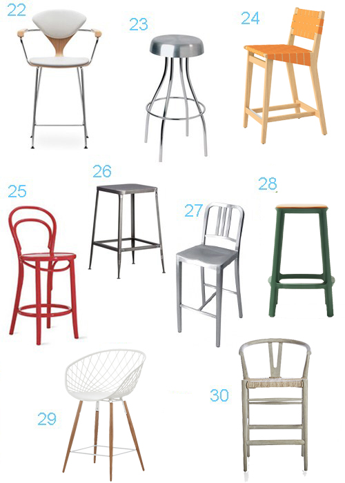 Modern Bar Stools With Backs Modern Counter Stools