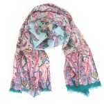 Giveaway: Pine Cone Hill Circus Paisley Scarf
