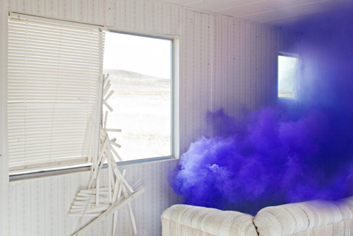 COLORED SMOKE PHOTO