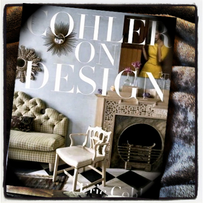 ERIC COHLER INTERIOR DESIGN COFFEE TABLE BOOK