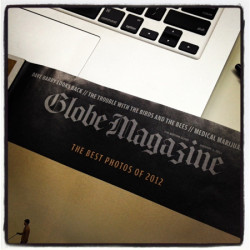 BOSTON GLOBE MAGAZINE COVER JAN 6 2013