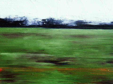 Close Land Study no 77 By Peter Roux