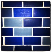 Kitchen Before Blue Backsplash