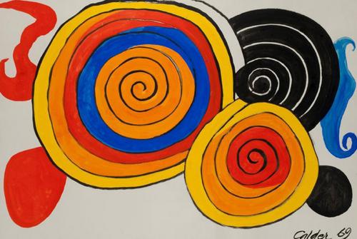 Alexander-Calder-Macarons-Multicolores-1969
