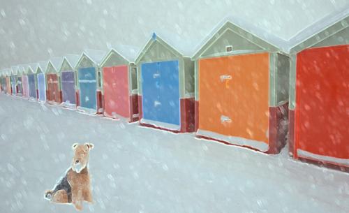 Nicole-Carman-Brighton-Beach-Huts