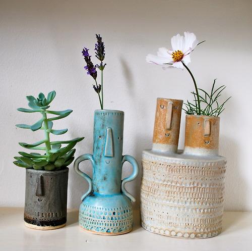 Atelier Stella Flowers Ceramic Pots