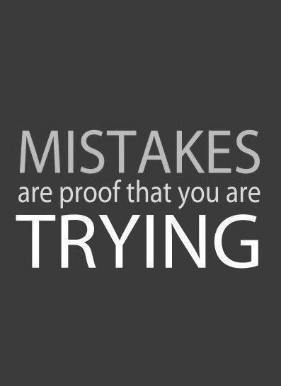 Quotes About Mistakes Quotes About Trying