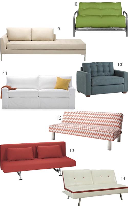 Modern Sleeper Sofas