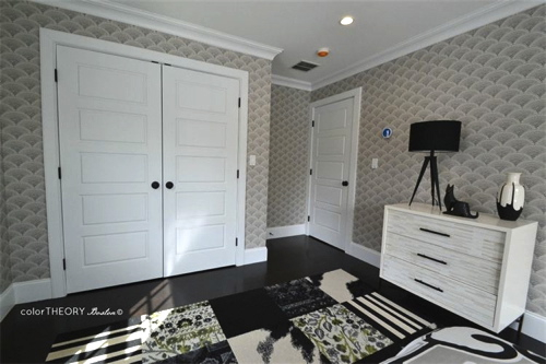 Guest Room Designed By Color Theory