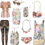 Get the Look: 24 Floral Fashions For Summer