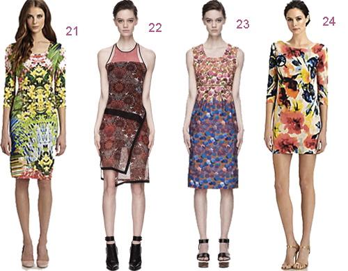 Floral Print Dress Mini