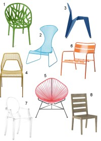 Get the Look: 18 Modern Patio Chairs - StyleCarrot